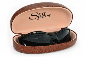 SeaSpecs Hard Case Brown