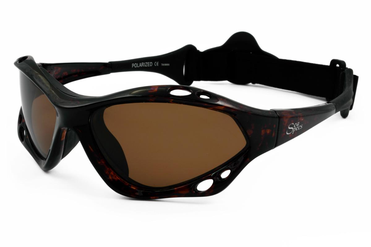 8f936ba5f38 SeaSpecs Classic Tortuga Specs Floating Polarized Sunglasses with Secure  Head Strap