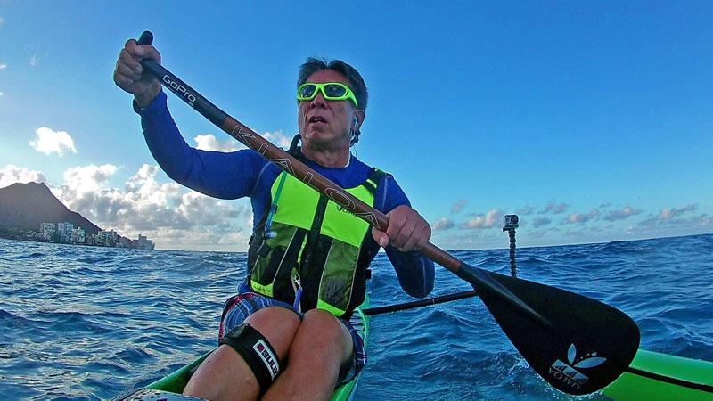 456d69b0da1 Sea Kayaker Mel wearing SeaSpecs Stealth and living with Aloha in Hawaii.