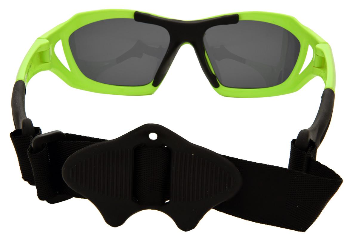 eda37069cbb SeaSpecs Stealth Neon Green Polarized Sunglasses with Secure Head Strap